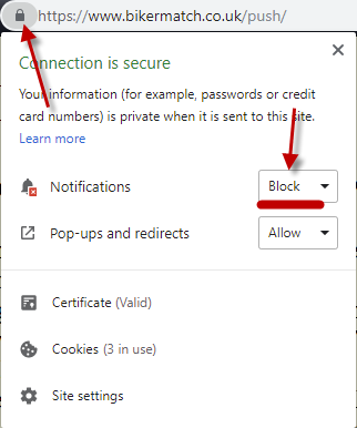 How to unblock Chrome notifications